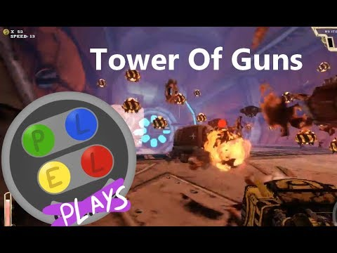 NEW CHANNEL! PlelPlays: BEST OF Tower Of Guns Part 1 |
