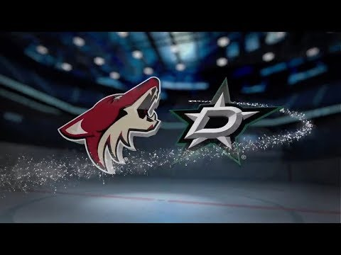 Arizona Coyotes vs Dallas Stars - October 17, 2017 | Game Highlights | NHL 2017/18 Обзор матча