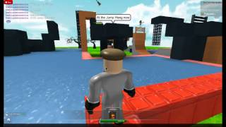 American Ninja Warrior At ROBLOX 2: Stage 1 - AussieBro's Run