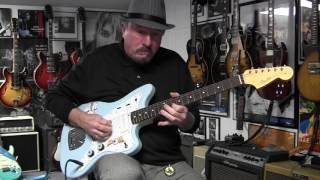 fender jazzmaster partsmaster guitar demo