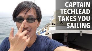 why sailing is a good hobby and learn what its like to sail in silicon valley