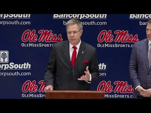 Ole Miss Press Conference on NCAA Report (12-1-17)