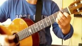 Я готов целовать песок Видеоурок гитара