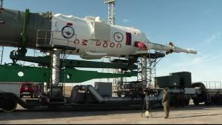 Expedition 51-52 Soyuz Vehicle is Prepared for Launch in Kazakhstan