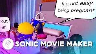 Sonic Dreams Collection: Sonic Movie Maker!