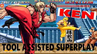 [TAS] - Hyper Street Fighter II: The Anniversary Edition - Ken