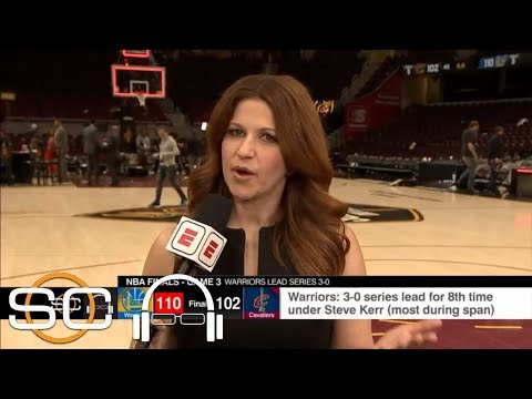 Rachel Nichols explains mood in Cavaliers' locker room: 'What else are we supposed to do?'  ESPN