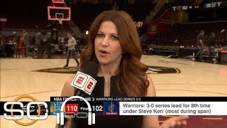 Rachel Nichols explains mood in Cavaliers' locker room: 'What else are we supposed to do?' | ESPN