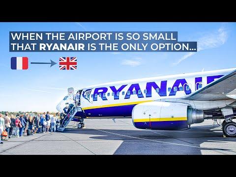 TRIPREPORT | Ryanair | Beziers - London Luton | Boeing 737-800