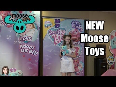 BRAND NEW Moose Toys Products at Clamour 2018! | Kelli Maple