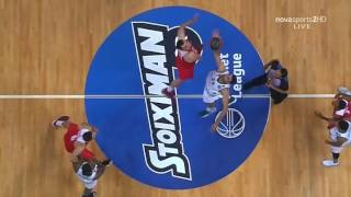 Panathinaikos - Olympiacos 84-80 [Full game] (2ος τελικός Basket League 2016-17)