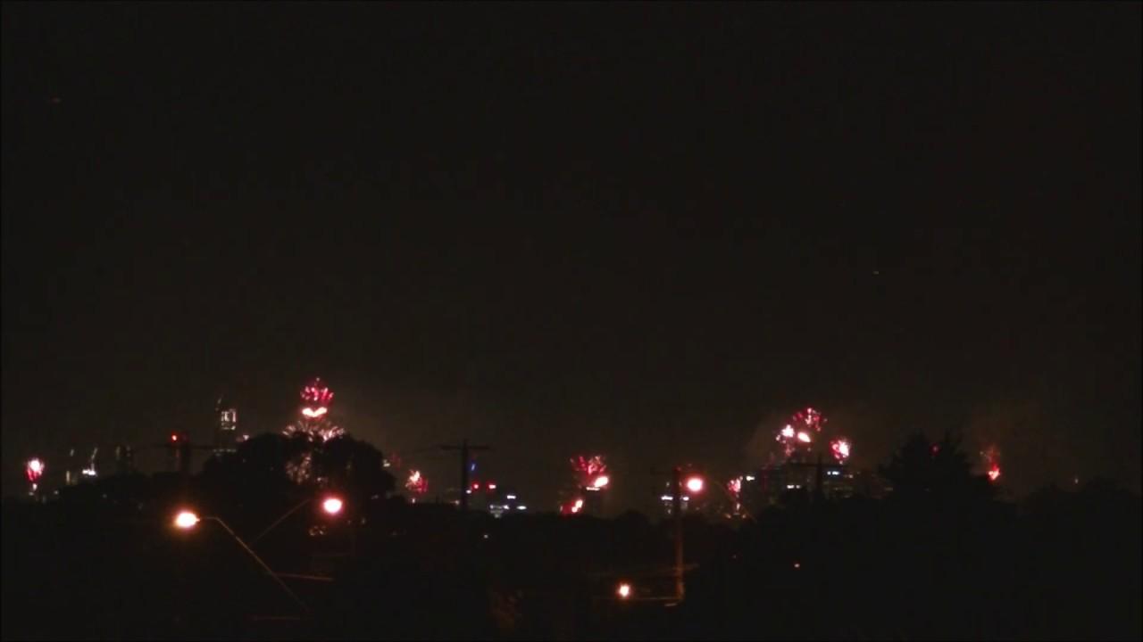 Melbourne New Year 2020 Midnight Fireworks