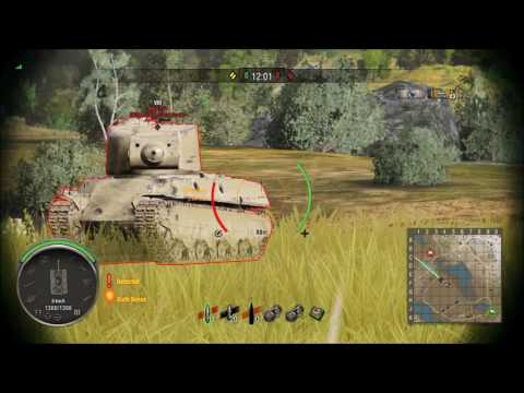 Bull's Mutant Weak Spot Guide (World Of Tanks Console)