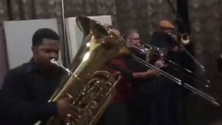 Down by the Riverside / Tell Me What I Say (Ray Charles) - Brass Band