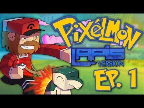 Pixelmon Lapis: Dwellia Adventures! [EP. 1 - The Professor's License Battle Showdown!]