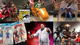 NEW Marvel Legends GAMBIT KINGPIN PROFESSOR X ARCHANGEL M'BAKU Figure Pictures Review SDCC 2018