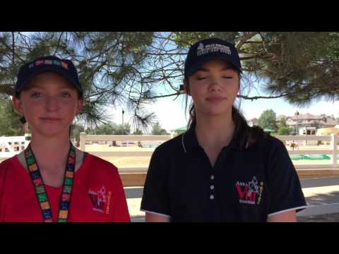 Cool Stories of NAJYRC: Heartland's Alisha Newton surprises Lee Camiolo