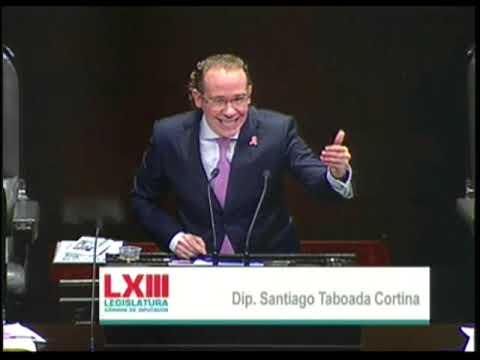 Dip. Santiago Taboada (PAN) - Ley de Ingresos 2018 (A Favor)