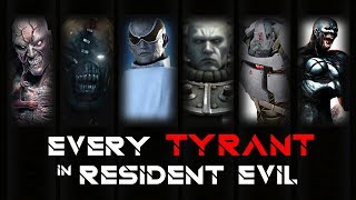 ALL TYPES/KINDS OF TYRANT   BOSS BATTLE in RESIDENT EVIL GAME