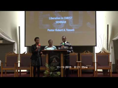 """Liberation In Christ Seminar: """"Sold Out"""""""