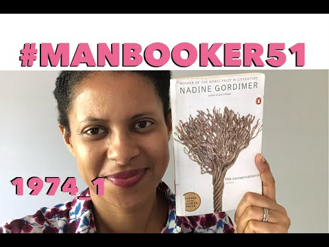 #ManBooker51 No. 7   The Conservationist By Nadine Gordimer   Runwright Reads