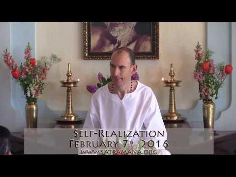 2016-02-07: Self-Realization