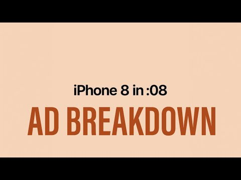 iPhone 8 in 8 Seconds Ad Breakdown  ✅