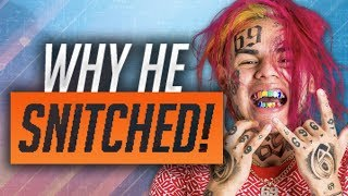 Why 6ix9ine SNITCHED & Plead Guilty To 9 Charges!