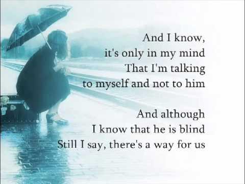 On My Own Les Miserables Lea Salonga Lyrics