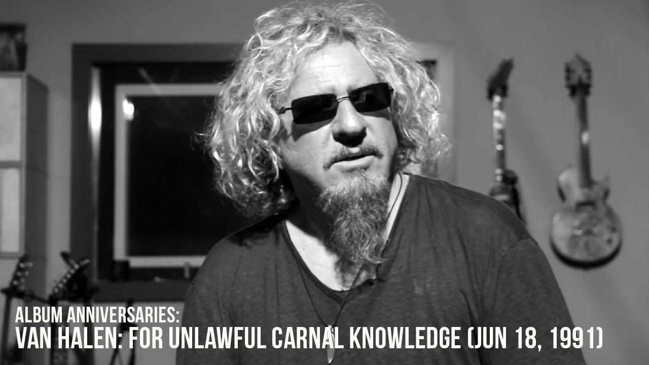 Van Halen For Unlawful Carnal Knowledge 24th Anniversary Youtube