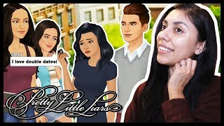 THIS DOUBLE DATE DIDNT END WELL - PRETTY LITTLE LIARS Episode 6 - App Game