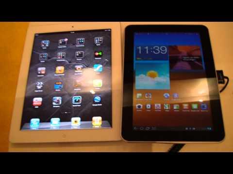 Samsung Galaxy Tab 8.9 vs. iPad 2 Comparison