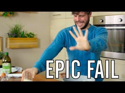 EPIC FAIL - Testiamo i trucchi con le uova - CUCINA PER PIGRI - Guglielmo Scilla   Cucina da Uomini