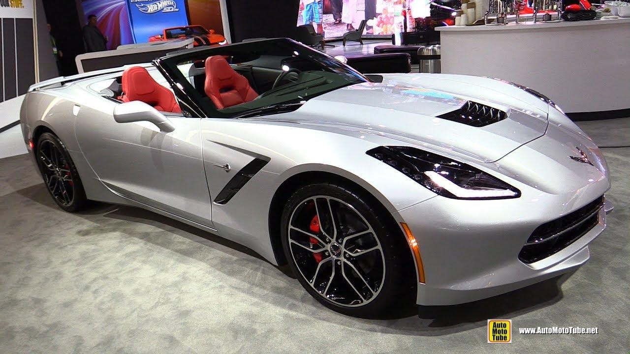 2018 Chevrolet Corvette Convertible - Exterior and ...