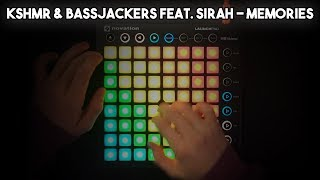 KSHMR Bassjackers Feat Sirah Memories Launchpad MK2 Cover