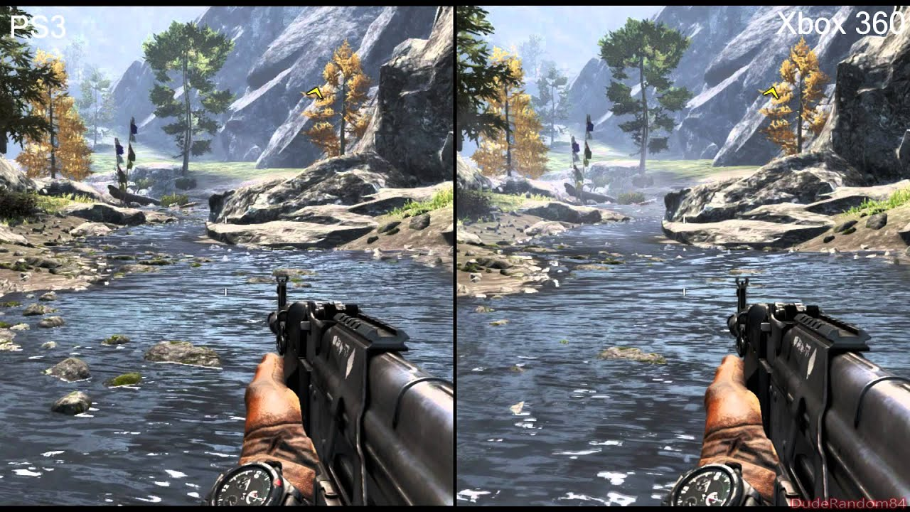 Far Cry 4 PS3 Vs Xbox ... Xbox One Vs Ps4 Graphics Gta V