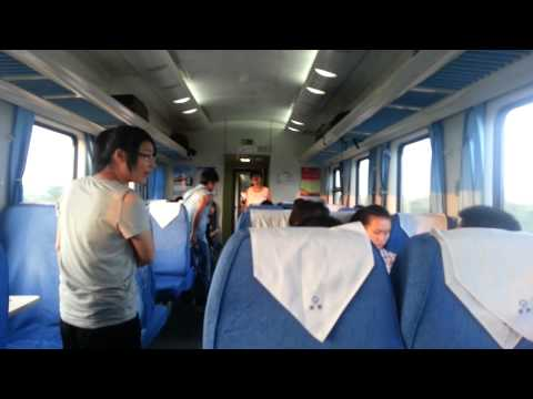 China: JiaXing / Shanghai Slow Train VS High Speed Train