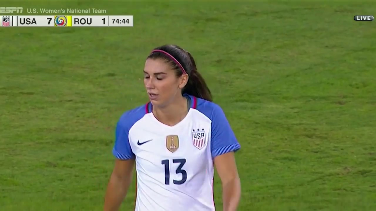 WNT vs. Romania  Alex Morgan Second Goal - Nov. 10 da212b34a