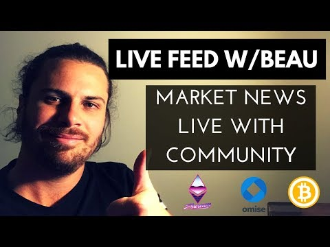 Recorded live feed, talking the Crypto market crash! News, future of Bitcoin and China