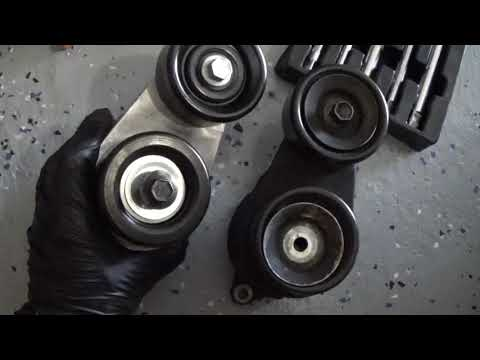 Acura TL Tensioner Pulley Noise , Replacement