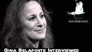 Gina Belafonte Interview on The Paul Leslie Hour