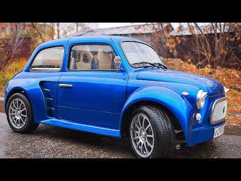Смотреть Самый Дорогой Запорожец в Мире!  «ЗАЗ V6 300 л.с» онлайн