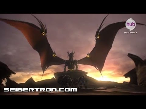 Transformers Prime Beast Hunters Predacons Rising 30 second commercial Hasbro Cut w HUB Bug
