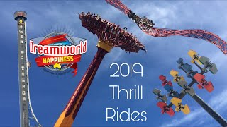 Download lagu All Thrill Rides 2019 Dreamworld Gold Coast Australia MP3