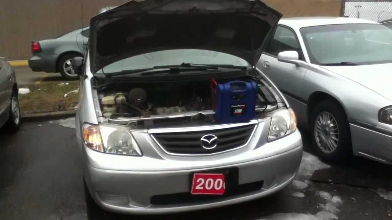 Coldstart 2000 Mazda MPV