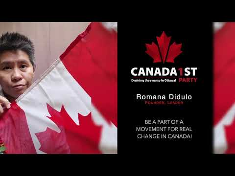 Canada1st Party of Canada      Intro Video BE A PART OF A MOVEMENT FOR REAL CHANGE IN CANADA! Help Us Drain The Deep Swamp in Ottawa! Canada1st Party of Canada Romana Didulo ..., From YouTubeVideos