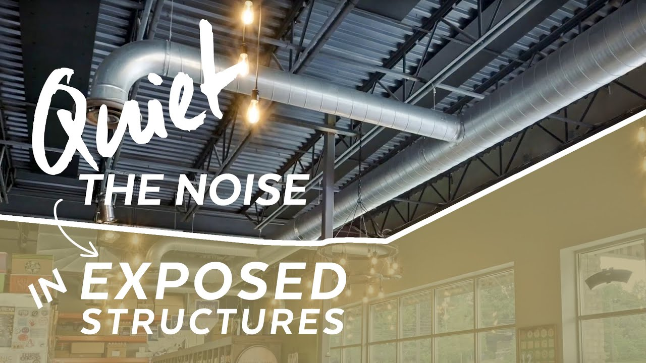 Download How to quiet Noise in Exposed Structure | Installation How-to | Armstrong Ceilings
