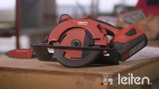Leiten - Sierra circular para madera Hilti SCW 22-A