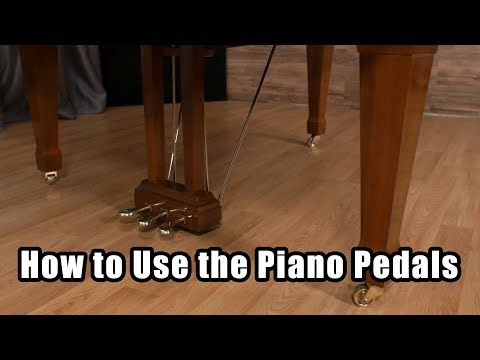 How to Use the Piano Pedals - 2 Vs. 3 Piano Pedals - What do the Piano Pedals Do?