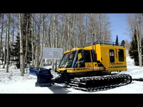 Skiing at Powder Mountain Utah